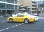 Spotted: porsche-cayman-yellow