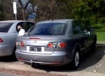 Number   Spotted: SA Number Plate 16 - Mazda 6