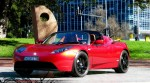 Left   Tesla Roadster Sport - Delivery to Simon Hackett: Tesla Roadster Sport - front left