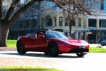 Right   Tesla Roadster Sport - Delivery to Simon Hackett: Tesla Roadster Sport - front right