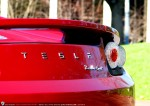 ashsimmonds Photos Tesla Roadster Sport - Delivery to Simon Hackett: Tesla Roadster Sport - rear badge