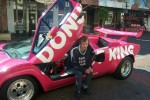 Kids   Donut King Lamborghini Countach: Special Kids ride Maitland 04