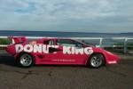 Donut King Lamborghini Countach: seaside