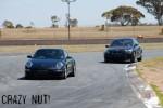 sti nut Photos Mallala Jan 09: Porsche 911 & BMW M5