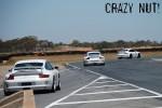 sti nut Photos Mallala Jan 09: Porsche 997 GT3 x3
