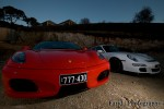 Ferrari _430 Australia R8, F430 & GT3: Ferrari F430 & Porsche GT3
