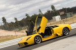 Rain   Exotic Cars: Lamborghini Murcielago at Symmons Plains by Rainey
