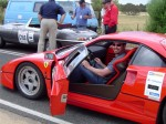 Ferrari   Paul's stuff: Me in a Ferrari F40