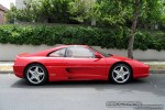 Right   Exotic Spotting in Melbourne: Ferrari 355 F1 Berlinetta - profile right 1 (Toorak, Vic, 25 Oct 08)