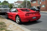 Ferrari   Exotic Spotting in Melbourne: Ferrari 355 F1 Berlinetta - rear left 2 (Toorak, Vic, 25 Oct 08)