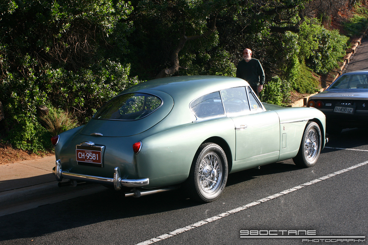 Aston Martin DB2-4 (green)