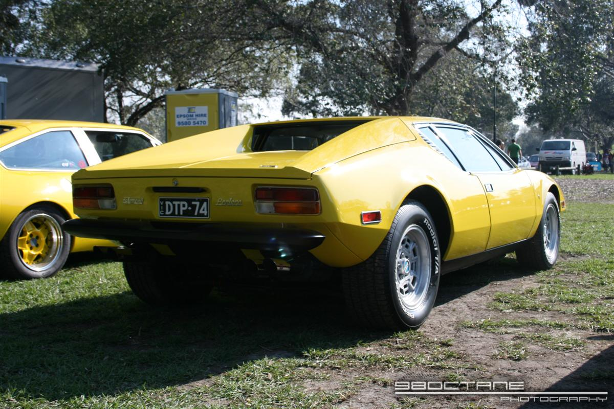 De Tomaso Pantera - rear right
