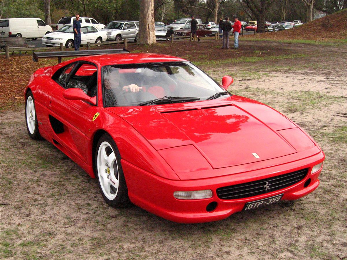 355 Melbourne Ferrari Concours 1 April 2007: Ferrari 355 Challenge - red