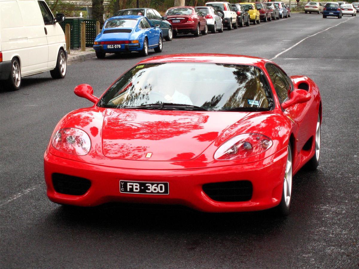 Ferrari 360 Modena - red front