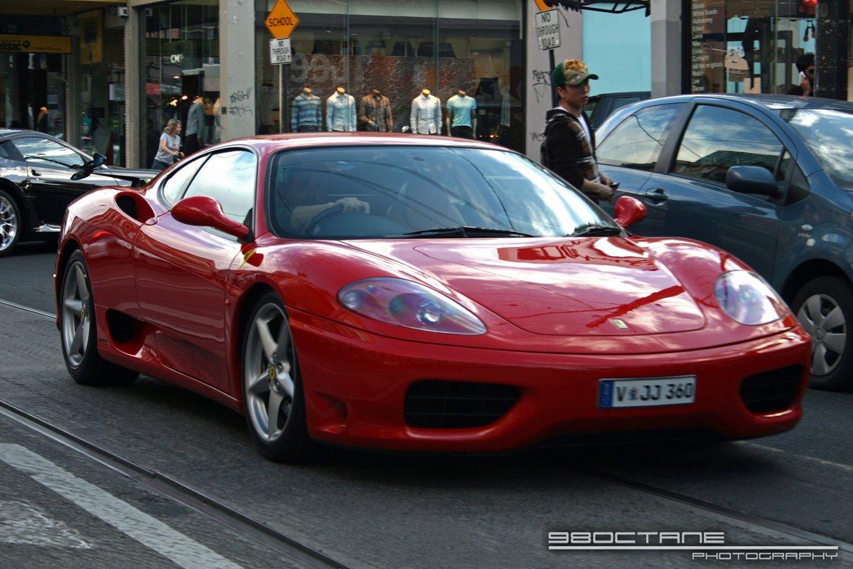 Ferrari 360 Spider - front