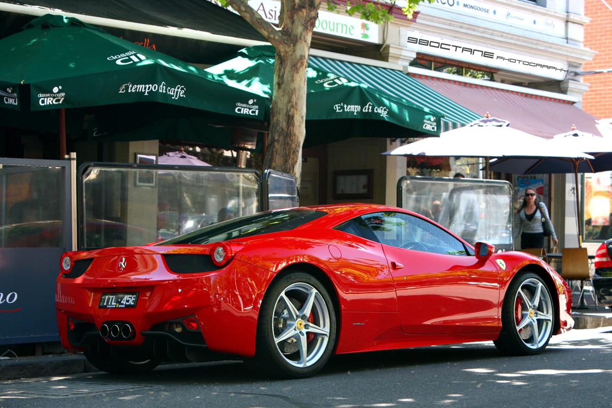 Ferrari 458 - rear right