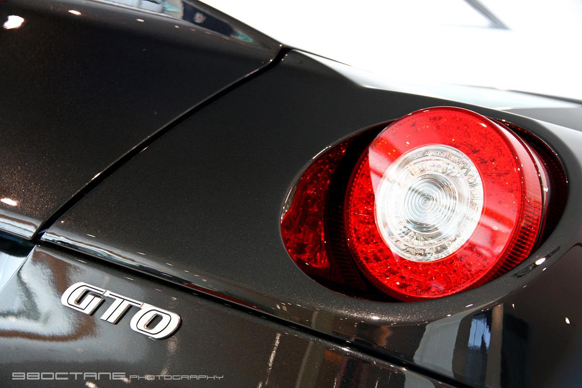 Ferrari 599 GTO - logo