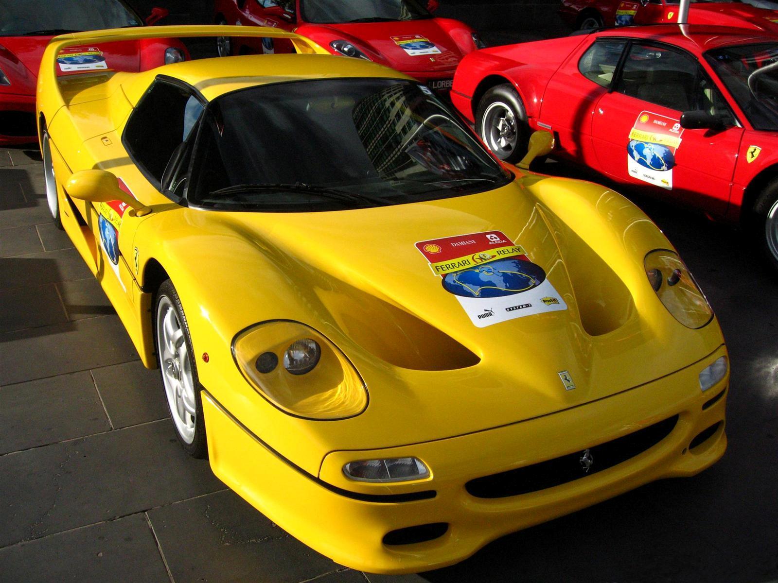 Ferrari F50 front (Crown