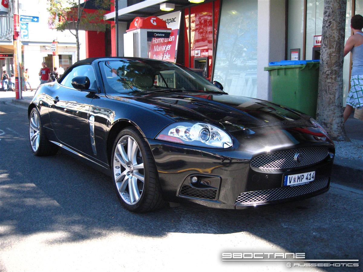Jaguar XKR Cabriolet - front