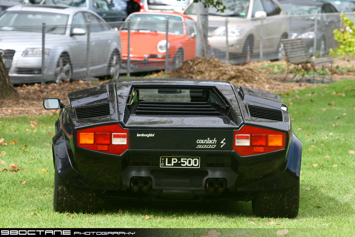 Countach Ferrari Club Concours
