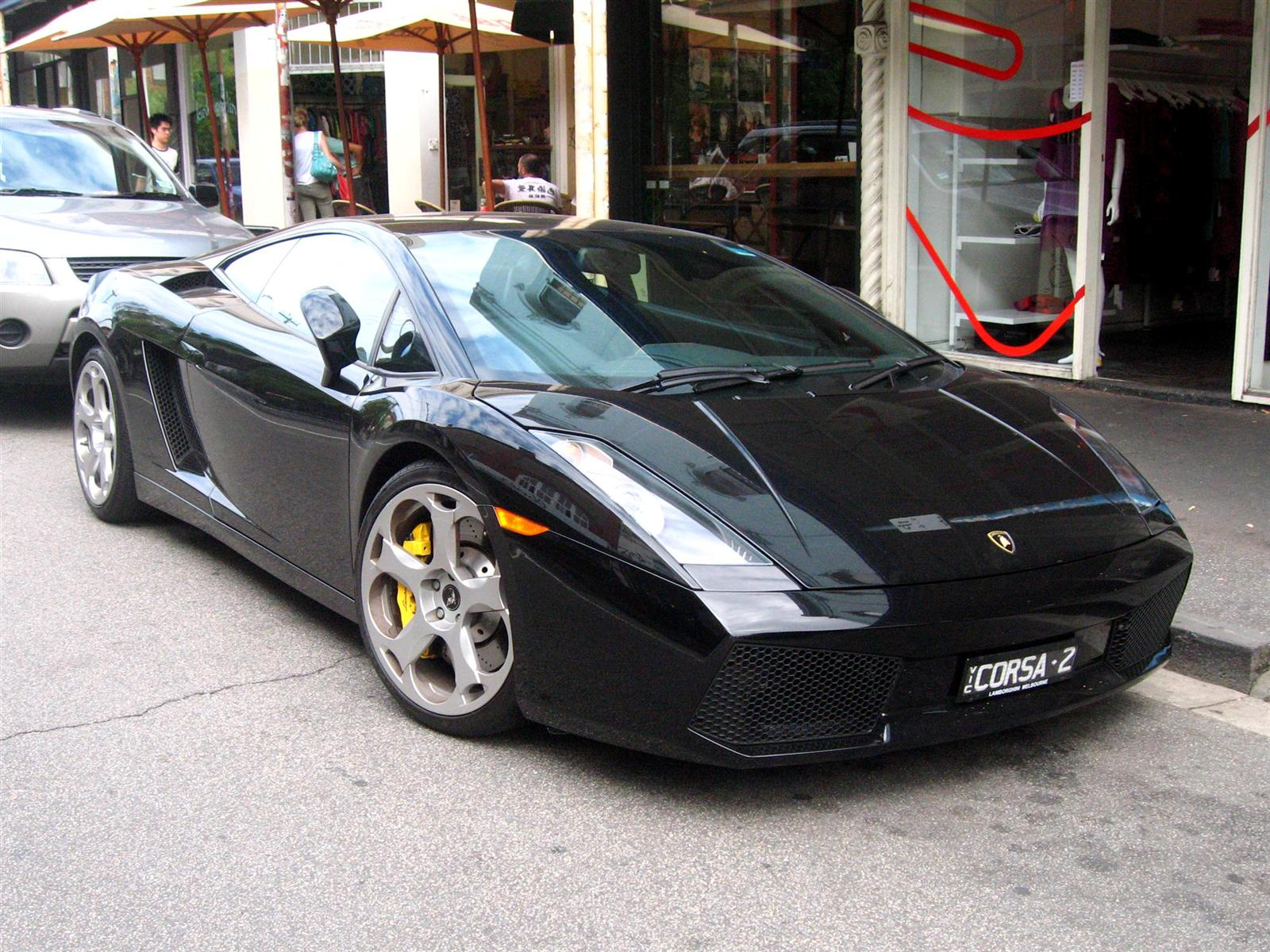 Lamborghini Exotic Spotting in Melbourne: Lamborghini Gallardo