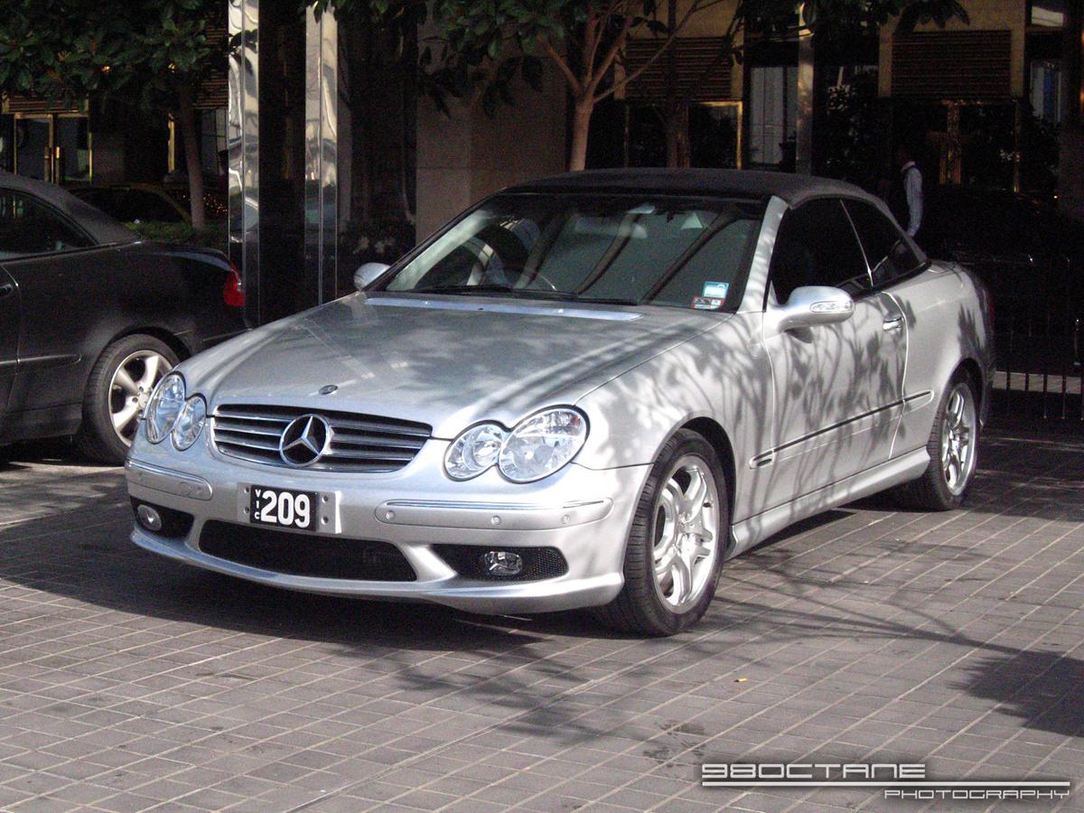 Mercedes Benz CLK55 AMG