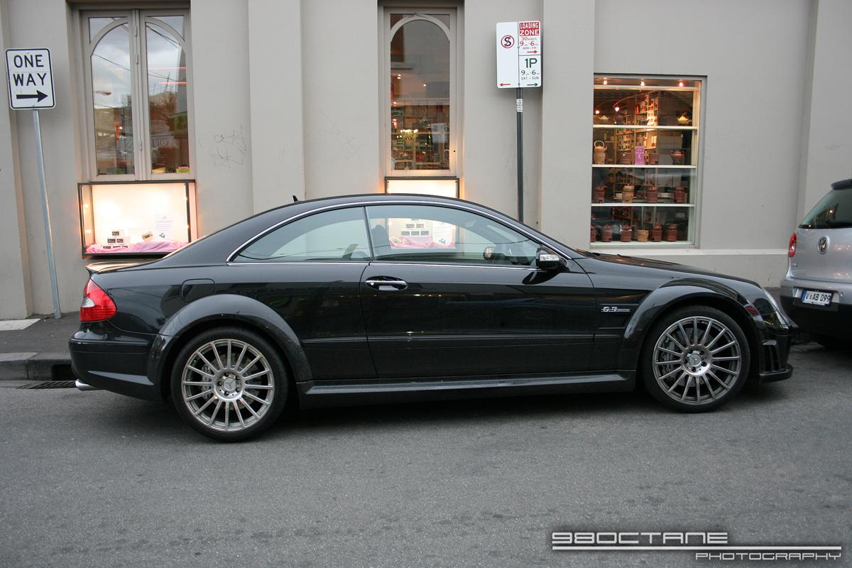 Amg Exotic Spotting in Melbourne: Mercedes Benz CLK63 AMG Black Series