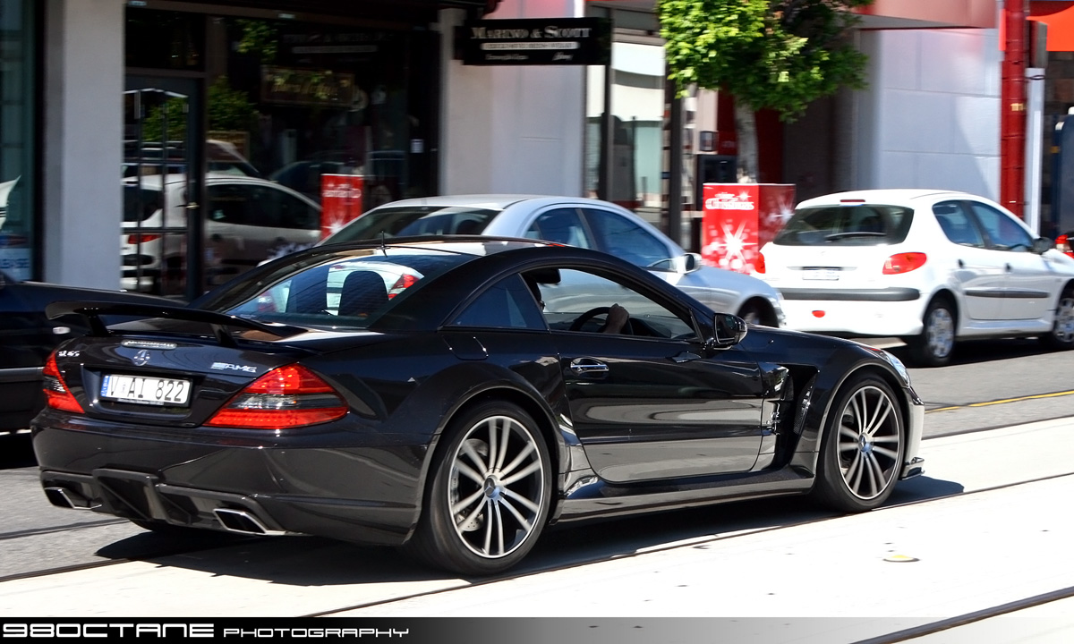 Mercedes Benz SL65 AMG Black
