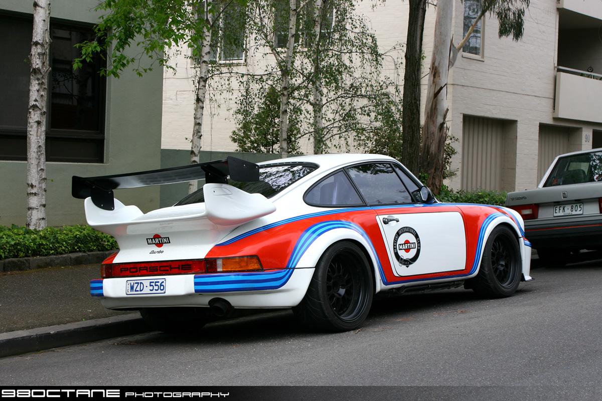Porsche 930 Turbo - rear right