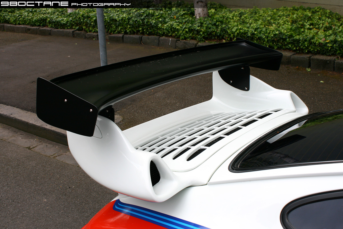 Porsche 930 Turbo - rear wing