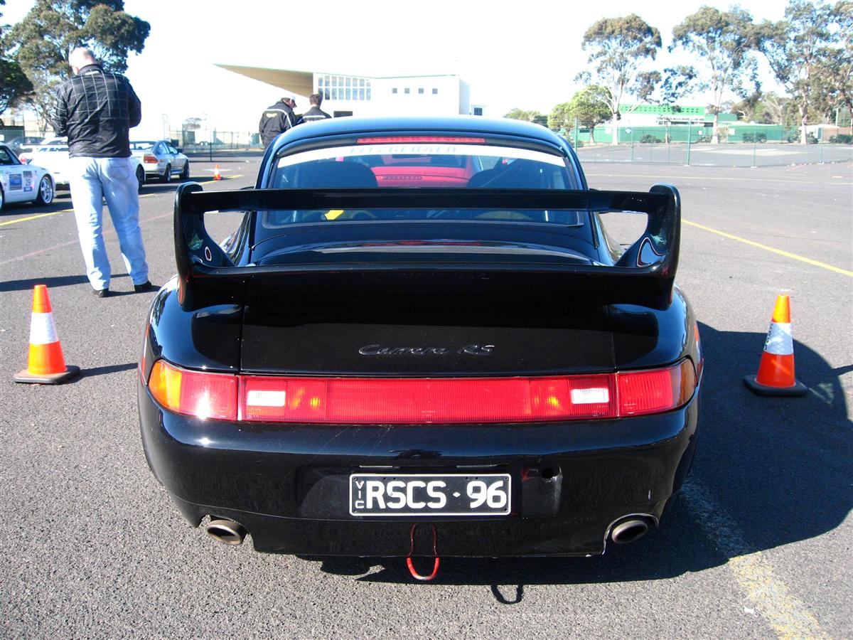 Porsche 993 RS - black rear