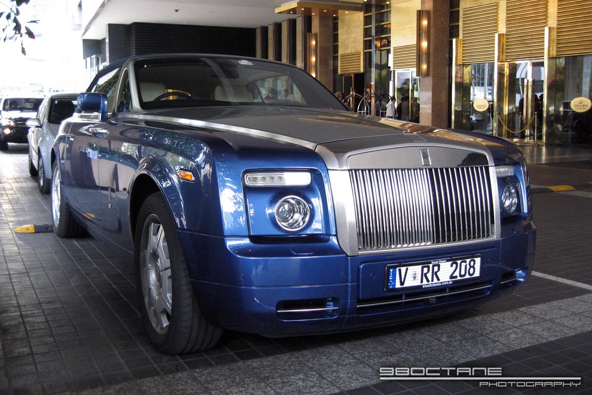 David Beckham's Custom Rolls-Royce Phantom Drophead Coupe