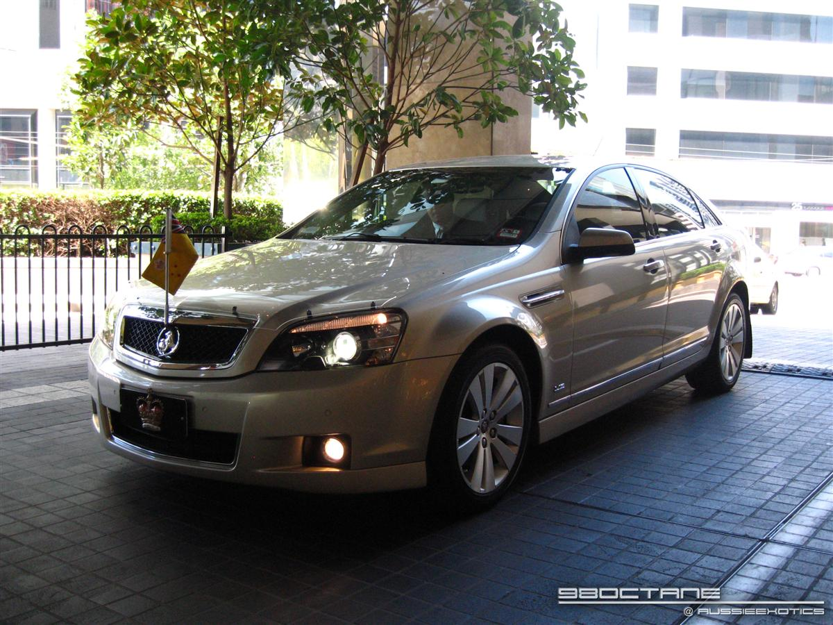 front (Holden Caprice,