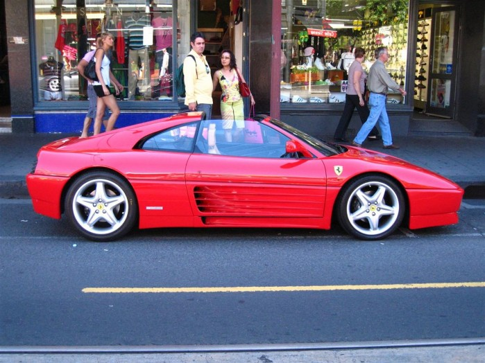 Ferrari 348 TS Exotic Spotting in Melbourne 98octane