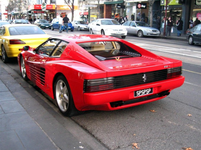 Ferrari 512TR Exotic Spotting in Melbourne 98octane