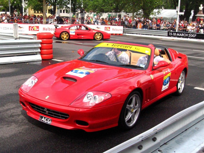 ... ) Ferrari's 60th Anniversary Parade Melbourne 3 March 2007 98octane