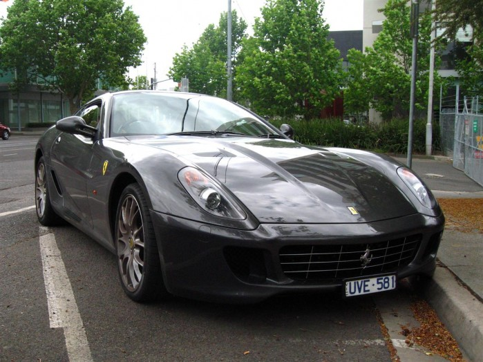 Ferrari 599 GTB Fiorano Exotic Spotting in Melbourne 98octane