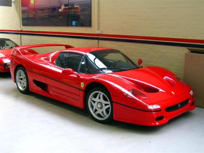 Old Ferrari Enzo Ferrari Prestige Cars