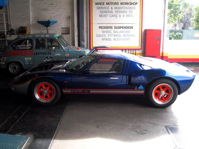 Ford GT40 Replica Exotic Spotting in Melbourne 98octane