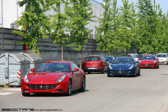 Image: 98octane's visit to the Ferrari factory, Maranello, Italy - 20 May 2011