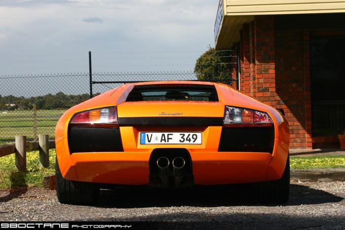 Lamborghini Murcielago Rear Moorabbin Airport Vic 19 Sept 09 Exotic Spotting In Melbourne 98octane AussieExotics.com