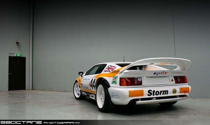Lotus Esprit GT300 GT2 - rear left 3 (Melbourne, 26 Jan 09) Lotus ...