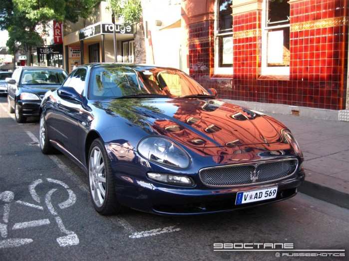 Maserati 3200GT Exotic Spotting in Melbourne 98octane