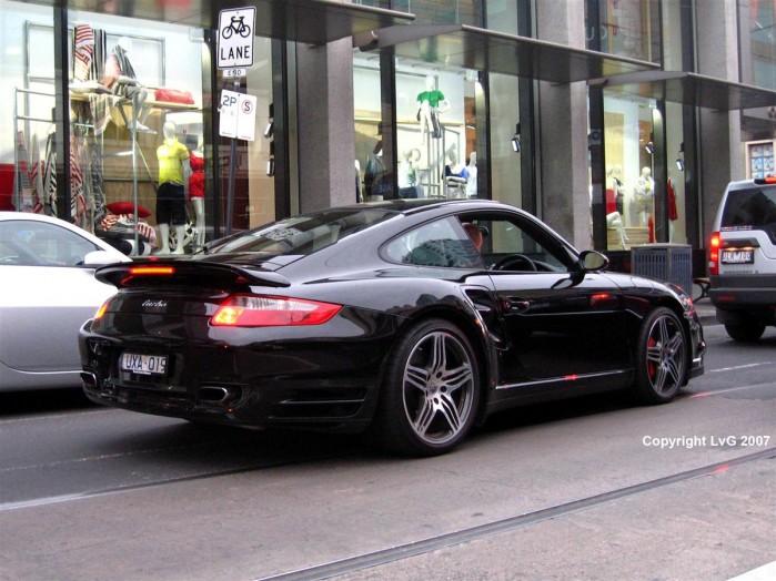 Porsche 911 Turbo [997] Exotic Spotting in Melbourne 98octane
