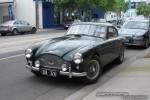 Left   Exotic Spotting in Melbourne: 1957 Aston Martin DB 2-4 Mk III - front left 1 (Toorak, Vic, 18 Oct 08)