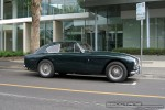 Exotic Spotting in Melbourne: 1957 Aston Martin DB 2-4 Mk III - profile right (Richmond, Vic, 18 Oct 08)