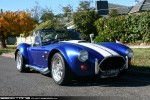Cobra   Exotic Spotting in Melbourne: AC Cobra (replica) [COBRAO] - front right 1 (Healesville, Victoria, 3 May 09)