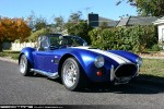 Cobra   Exotic Spotting in Melbourne: AC Cobra (replica) [COBRAO] - front right 2 (Healesville, Victoria, 3 May 09)