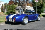 Cobra   Exotic Spotting in Melbourne: AC Cobra (replica) [COBRAO] - rear right 3 (Healesville, Victoria, 3 May 09)