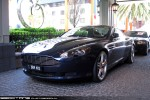 Rt   Exotic Spotting in Melbourne: Aston Martin DB9 - front left (Southbank, Vic, 3 Sept 09)